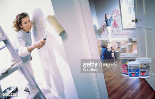 Mẹo nhỏ giúp bạn khắc phục tình trạng tường nhà bị ố vàng và nấm mốc