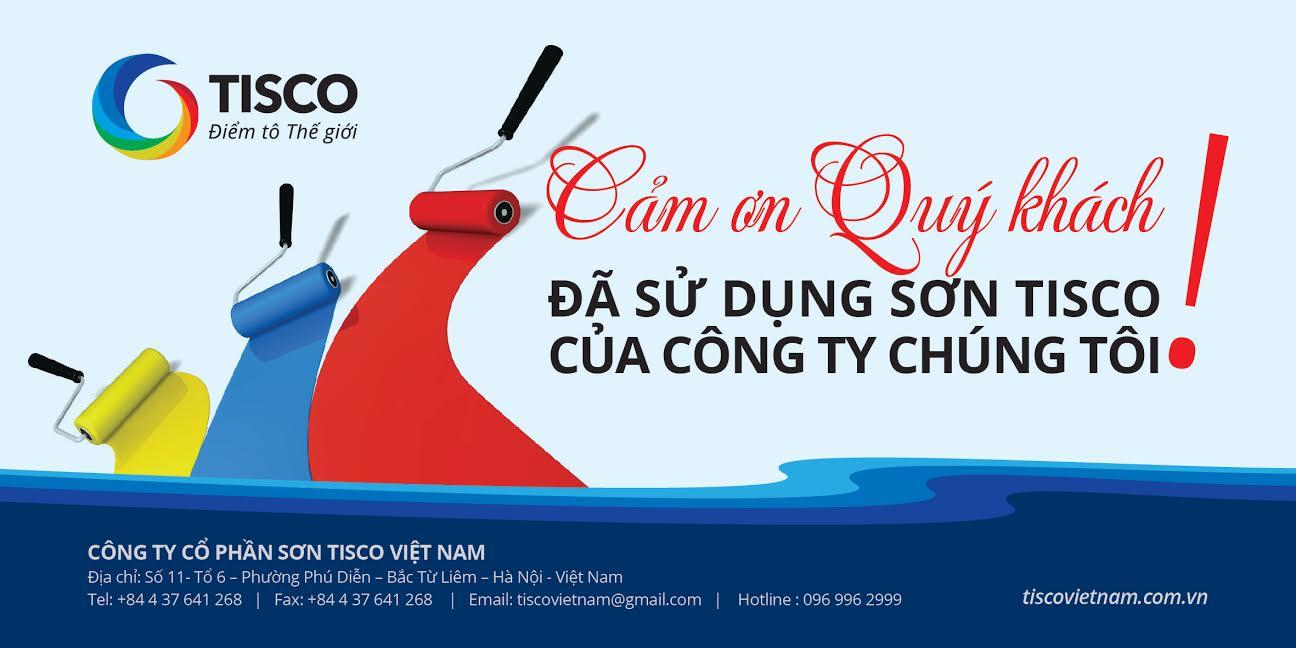 Tisco Việt Nam – Đẳng cấp dòng sơn số 1 Việt Nam