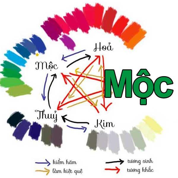 Người mệnh Mộc nên chọn sơn nhà màu gì ?