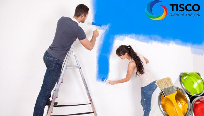 Mách bạn cách sơn tường nhà đã quét vôi không thể bỏ qua