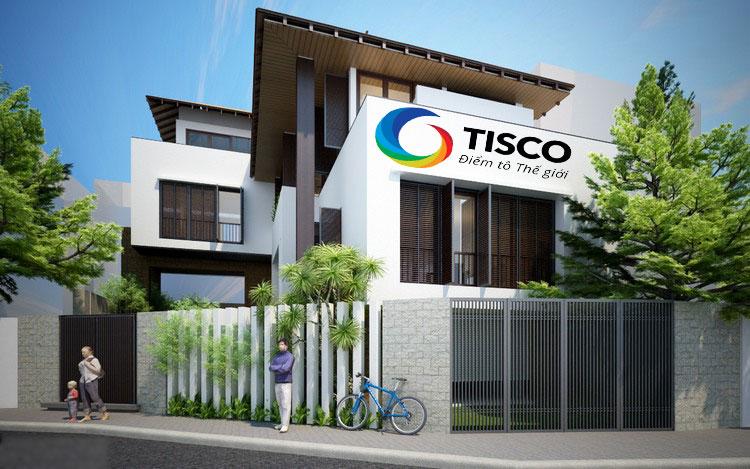 Sơn Tisco – kiến tạo vẻ đẹp hoàn mỹ cho mọi công trình
