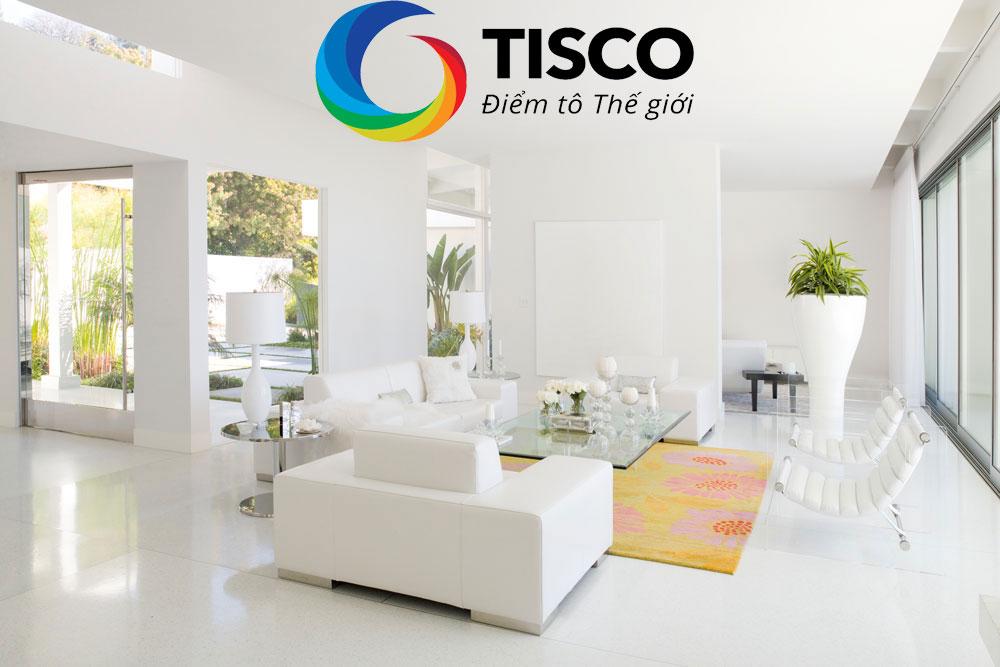 Lợi ích của sơn nhà màu trắng