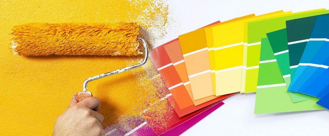 Phối màu cho sơn nhà
